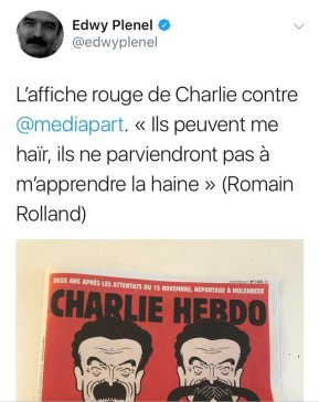 Image result for affiche rouge edwy plenel
